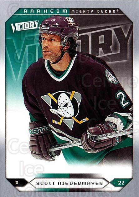 2005-06 UD Victory #202 Scott Niedermayer<br/>5 In Stock - $1.00 each - <a href=https://centericecollectibles.foxycart.com/cart?name=2005-06%20UD%20Victory%20%23202%20Scott%20Niedermay...&quantity_max=5&price=$1.00&code=234870 class=foxycart> Buy it now! </a>