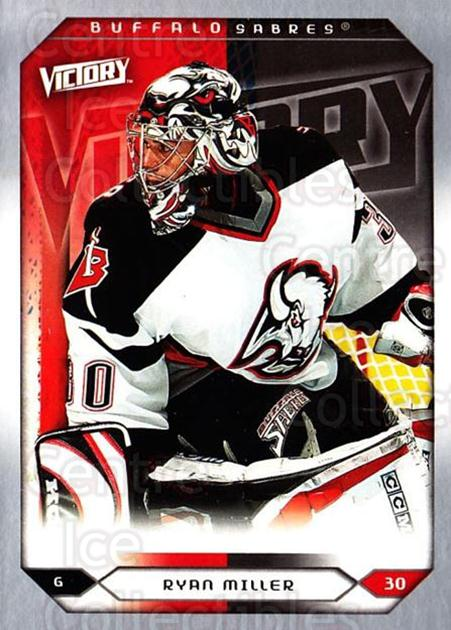 2005-06 UD Victory #207 Ryan Miller<br/>5 In Stock - $1.00 each - <a href=https://centericecollectibles.foxycart.com/cart?name=2005-06%20UD%20Victory%20%23207%20Ryan%20Miller...&quantity_max=5&price=$1.00&code=234875 class=foxycart> Buy it now! </a>