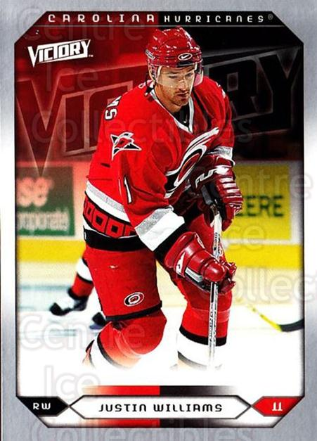 2005-06 UD Victory #209 Justin Williams<br/>6 In Stock - $1.00 each - <a href=https://centericecollectibles.foxycart.com/cart?name=2005-06%20UD%20Victory%20%23209%20Justin%20Williams...&quantity_max=6&price=$1.00&code=234877 class=foxycart> Buy it now! </a>