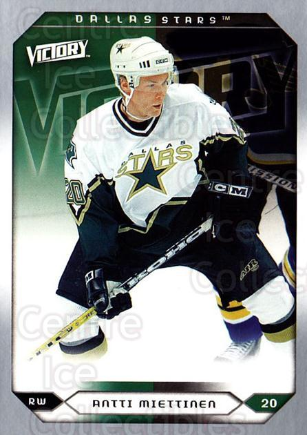 2005-06 UD Victory #214 Antti Miettinen<br/>5 In Stock - $1.00 each - <a href=https://centericecollectibles.foxycart.com/cart?name=2005-06%20UD%20Victory%20%23214%20Antti%20Miettinen...&quantity_max=5&price=$1.00&code=234882 class=foxycart> Buy it now! </a>