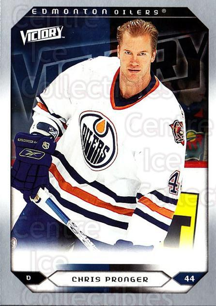 2005-06 UD Victory #218 Chris Pronger<br/>6 In Stock - $1.00 each - <a href=https://centericecollectibles.foxycart.com/cart?name=2005-06%20UD%20Victory%20%23218%20Chris%20Pronger...&quantity_max=6&price=$1.00&code=234886 class=foxycart> Buy it now! </a>