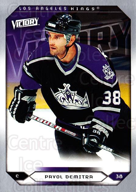 2005-06 UD Victory #223 Pavol Demitra<br/>5 In Stock - $1.00 each - <a href=https://centericecollectibles.foxycart.com/cart?name=2005-06%20UD%20Victory%20%23223%20Pavol%20Demitra...&quantity_max=5&price=$1.00&code=234891 class=foxycart> Buy it now! </a>