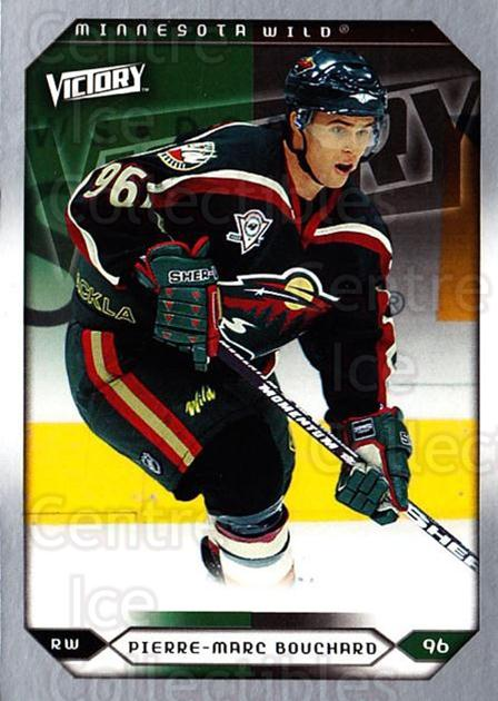 2005-06 UD Victory #224 Pierre-Marc Bouchard<br/>3 In Stock - $1.00 each - <a href=https://centericecollectibles.foxycart.com/cart?name=2005-06%20UD%20Victory%20%23224%20Pierre-Marc%20Bou...&quantity_max=3&price=$1.00&code=234892 class=foxycart> Buy it now! </a>