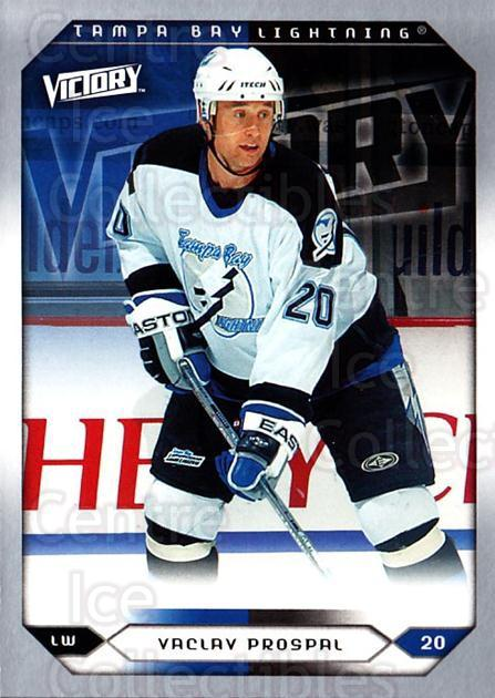 2005-06 UD Victory #245 Vaclav Prospal<br/>5 In Stock - $1.00 each - <a href=https://centericecollectibles.foxycart.com/cart?name=2005-06%20UD%20Victory%20%23245%20Vaclav%20Prospal...&quantity_max=5&price=$1.00&code=234913 class=foxycart> Buy it now! </a>