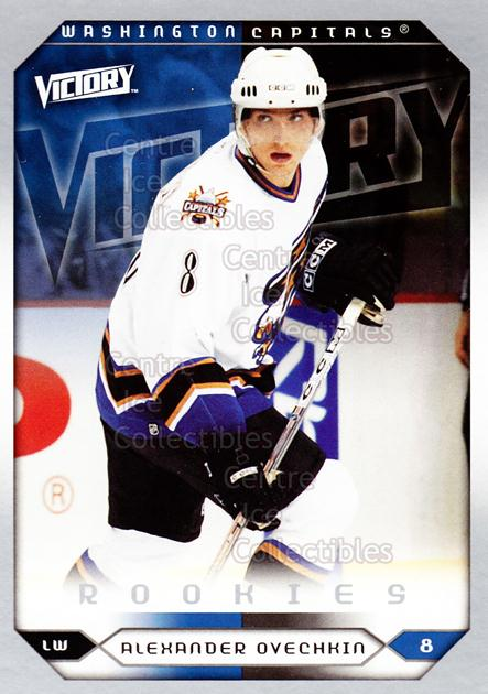 2005-06 UD Victory #264 Alexander Ovechkin<br/>3 In Stock - $10.00 each - <a href=https://centericecollectibles.foxycart.com/cart?name=2005-06%20UD%20Victory%20%23264%20Alexander%20Ovech...&price=$10.00&code=234932 class=foxycart> Buy it now! </a>