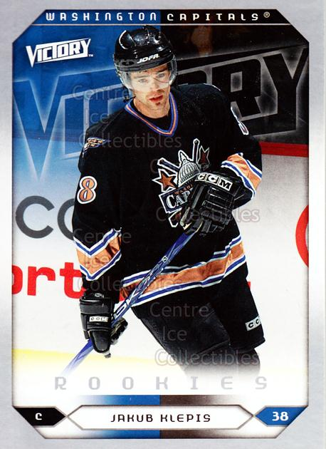 2005-06 UD Victory #265 Jakub Klepis<br/>5 In Stock - $2.00 each - <a href=https://centericecollectibles.foxycart.com/cart?name=2005-06%20UD%20Victory%20%23265%20Jakub%20Klepis...&quantity_max=5&price=$2.00&code=234933 class=foxycart> Buy it now! </a>