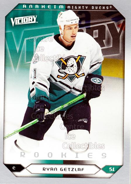 2005-06 UD Victory #280 Ryan Getzlaf<br/>6 In Stock - $3.00 each - <a href=https://centericecollectibles.foxycart.com/cart?name=2005-06%20UD%20Victory%20%23280%20Ryan%20Getzlaf...&quantity_max=6&price=$3.00&code=234948 class=foxycart> Buy it now! </a>