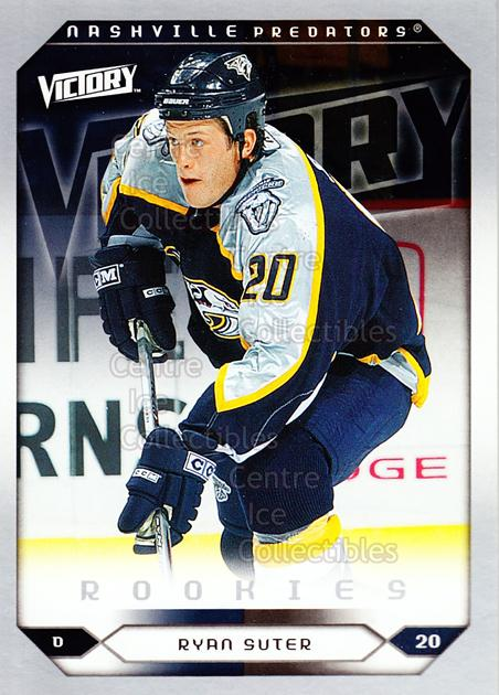 2005-06 UD Victory #287 Ryan Suter<br/>6 In Stock - $2.00 each - <a href=https://centericecollectibles.foxycart.com/cart?name=2005-06%20UD%20Victory%20%23287%20Ryan%20Suter...&quantity_max=6&price=$2.00&code=234955 class=foxycart> Buy it now! </a>