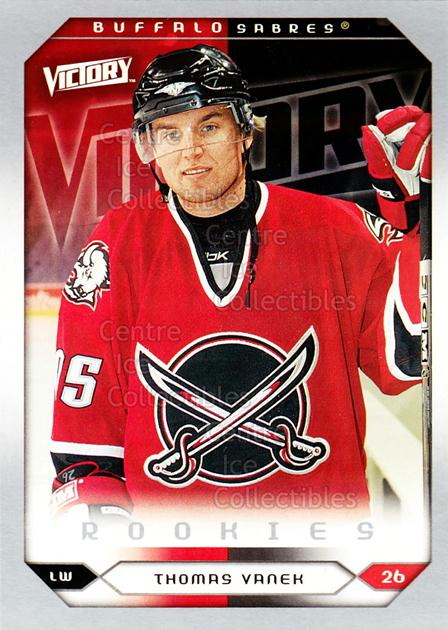 2005-06 UD Victory #292 Thomas Vanek<br/>4 In Stock - $5.00 each - <a href=https://centericecollectibles.foxycart.com/cart?name=2005-06%20UD%20Victory%20%23292%20Thomas%20Vanek...&quantity_max=4&price=$5.00&code=234960 class=foxycart> Buy it now! </a>