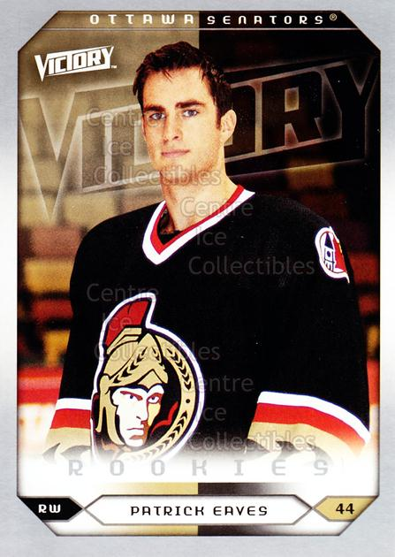 2005-06 UD Victory #295 Patrick Eaves<br/>5 In Stock - $2.00 each - <a href=https://centericecollectibles.foxycart.com/cart?name=2005-06%20UD%20Victory%20%23295%20Patrick%20Eaves...&quantity_max=5&price=$2.00&code=234963 class=foxycart> Buy it now! </a>