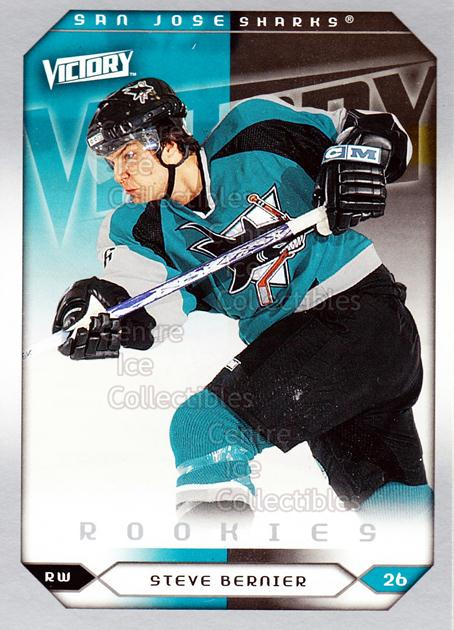 2005-06 UD Victory #296 Steve Bernier<br/>5 In Stock - $2.00 each - <a href=https://centericecollectibles.foxycart.com/cart?name=2005-06%20UD%20Victory%20%23296%20Steve%20Bernier...&quantity_max=5&price=$2.00&code=234964 class=foxycart> Buy it now! </a>