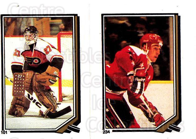 1987-88 O-Pee-Chee Stickers #101-234 Ron Hextall, Mike Ridley<br/>4 In Stock - $2.00 each - <a href=https://centericecollectibles.foxycart.com/cart?name=1987-88%20O-Pee-Chee%20Stickers%20%23101-234%20Ron%20Hextall,%20Mi...&quantity_max=4&price=$2.00&code=23563 class=foxycart> Buy it now! </a>