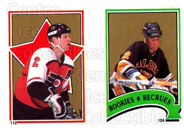 1987-88 O-Pee-Chee Stickers #112-124 Mark Howe, Brian Benning<br/>9 In Stock - $2.00 each - <a href=https://centericecollectibles.foxycart.com/cart?name=1987-88%20O-Pee-Chee%20Stickers%20%23112-124%20Mark%20Howe,%20Bria...&quantity_max=9&price=$2.00&code=23574 class=foxycart> Buy it now! </a>