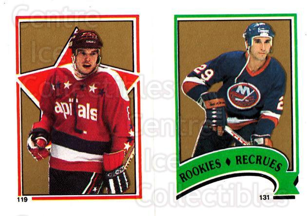 1987-88 O-Pee-Chee Stickers #119-131 Larry Murphy, Ken Leiter<br/>5 In Stock - $2.00 each - <a href=https://centericecollectibles.foxycart.com/cart?name=1987-88%20O-Pee-Chee%20Stickers%20%23119-131%20Larry%20Murphy,%20K...&quantity_max=5&price=$2.00&code=23579 class=foxycart> Buy it now! </a>