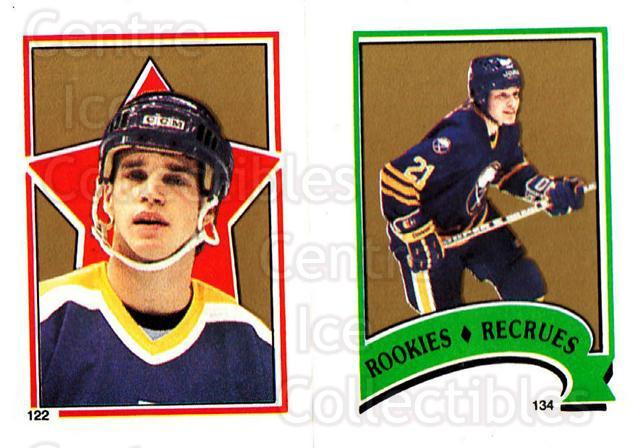 1987-88 O-Pee-Chee Stickers #122-134 Luc Robitaille, Christian Ruuttu<br/>6 In Stock - $2.00 each - <a href=https://centericecollectibles.foxycart.com/cart?name=1987-88%20O-Pee-Chee%20Stickers%20%23122-134%20Luc%20Robitaille,...&quantity_max=6&price=$2.00&code=23582 class=foxycart> Buy it now! </a>