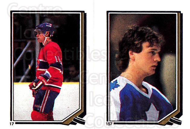1987-88 O-Pee-Chee Stickers #017-157 Ryan Walter, Rick Lanz<br/>6 In Stock - $2.00 each - <a href=https://centericecollectibles.foxycart.com/cart?name=1987-88%20O-Pee-Chee%20Stickers%20%23017-157%20Ryan%20Walter,%20Ri...&quantity_max=6&price=$2.00&code=23630 class=foxycart> Buy it now! </a>
