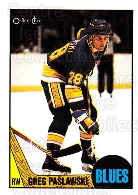 1987-88 O-Pee-Chee #10 Greg Paslawski<br/>8 In Stock - $1.00 each - <a href=https://centericecollectibles.foxycart.com/cart?name=1987-88%20O-Pee-Chee%20%2310%20Greg%20Paslawski...&quantity_max=8&price=$1.00&code=23707 class=foxycart> Buy it now! </a>