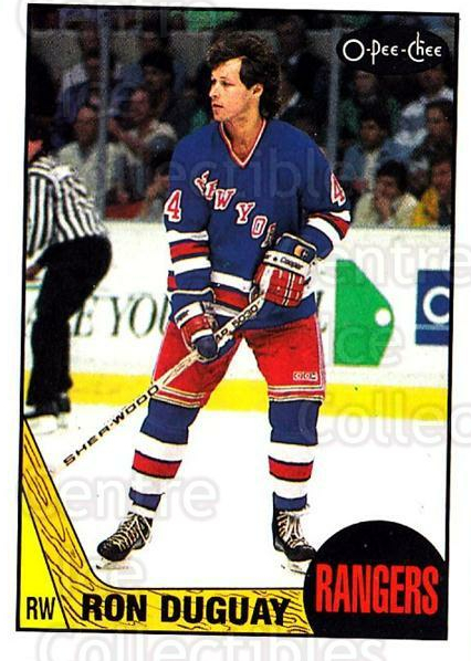 1987-88 O-Pee-Chee #110 Ron Duguay<br/>1 In Stock - $1.00 each - <a href=https://centericecollectibles.foxycart.com/cart?name=1987-88%20O-Pee-Chee%20%23110%20Ron%20Duguay...&quantity_max=1&price=$1.00&code=23719 class=foxycart> Buy it now! </a>