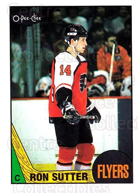 1987-88 O-Pee-Chee #113 Ron Sutter<br/>8 In Stock - $1.00 each - <a href=https://centericecollectibles.foxycart.com/cart?name=1987-88%20O-Pee-Chee%20%23113%20Ron%20Sutter...&quantity_max=8&price=$1.00&code=23722 class=foxycart> Buy it now! </a>