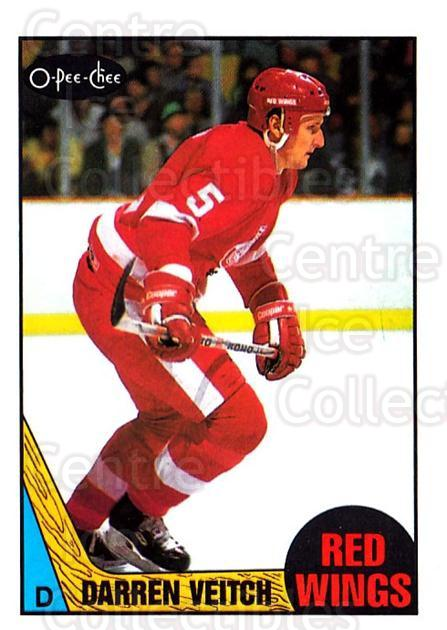 1987-88 O-Pee-Chee #114 Darren Veitch<br/>7 In Stock - $1.00 each - <a href=https://centericecollectibles.foxycart.com/cart?name=1987-88%20O-Pee-Chee%20%23114%20Darren%20Veitch...&quantity_max=7&price=$1.00&code=23723 class=foxycart> Buy it now! </a>