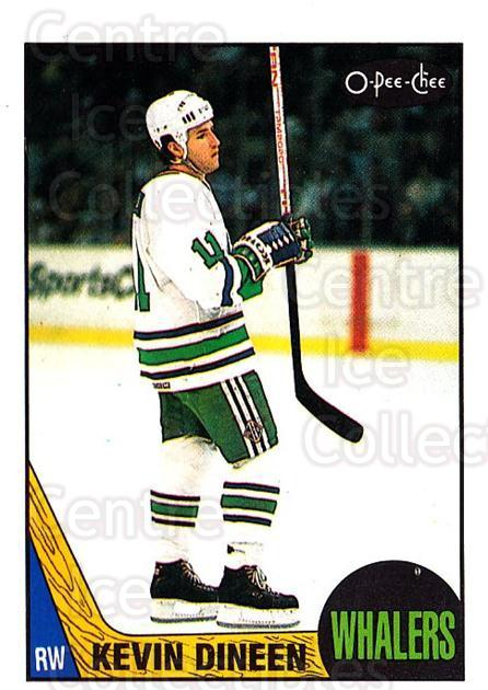 1987-88 O-Pee-Chee #124 Kevin Dineen<br/>7 In Stock - $1.00 each - <a href=https://centericecollectibles.foxycart.com/cart?name=1987-88%20O-Pee-Chee%20%23124%20Kevin%20Dineen...&quantity_max=7&price=$1.00&code=23733 class=foxycart> Buy it now! </a>