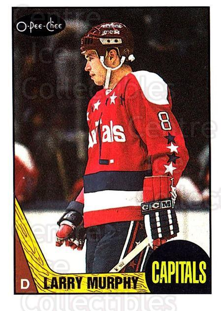 1987-88 O-Pee-Chee #133 Larry Murphy<br/>8 In Stock - $1.00 each - <a href=https://centericecollectibles.foxycart.com/cart?name=1987-88%20O-Pee-Chee%20%23133%20Larry%20Murphy...&quantity_max=8&price=$1.00&code=23742 class=foxycart> Buy it now! </a>