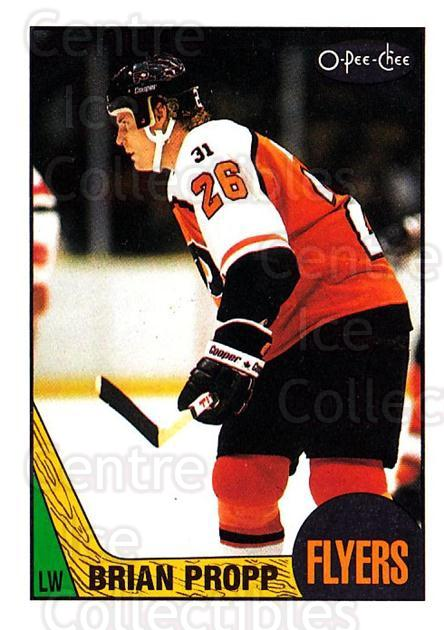 1987-88 O-Pee-Chee #158 Brian Propp<br/>8 In Stock - $1.00 each - <a href=https://centericecollectibles.foxycart.com/cart?name=1987-88%20O-Pee-Chee%20%23158%20Brian%20Propp...&quantity_max=8&price=$1.00&code=23767 class=foxycart> Buy it now! </a>