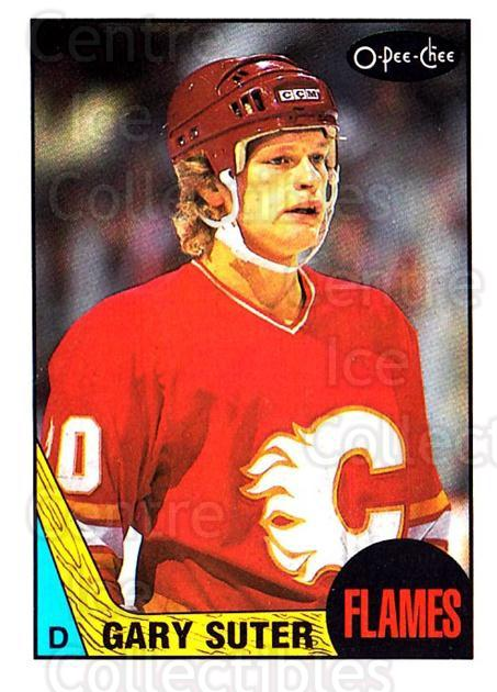 1987-88 O-Pee-Chee #176 Gary Suter<br/>8 In Stock - $1.00 each - <a href=https://centericecollectibles.foxycart.com/cart?name=1987-88%20O-Pee-Chee%20%23176%20Gary%20Suter...&quantity_max=8&price=$1.00&code=23785 class=foxycart> Buy it now! </a>