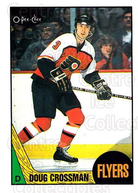 1987-88 O-Pee-Chee #182 Doug Crossman<br/>8 In Stock - $1.00 each - <a href=https://centericecollectibles.foxycart.com/cart?name=1987-88%20O-Pee-Chee%20%23182%20Doug%20Crossman...&quantity_max=8&price=$1.00&code=23792 class=foxycart> Buy it now! </a>