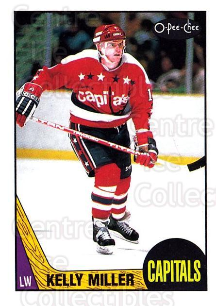 1987-88 O-Pee-Chee #189 Kelly Miller<br/>6 In Stock - $1.00 each - <a href=https://centericecollectibles.foxycart.com/cart?name=1987-88%20O-Pee-Chee%20%23189%20Kelly%20Miller...&quantity_max=6&price=$1.00&code=23798 class=foxycart> Buy it now! </a>