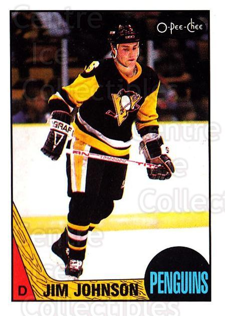 1987-88 O-Pee-Chee #196 Jim Johnson<br/>5 In Stock - $1.00 each - <a href=https://centericecollectibles.foxycart.com/cart?name=1987-88%20O-Pee-Chee%20%23196%20Jim%20Johnson...&quantity_max=5&price=$1.00&code=23806 class=foxycart> Buy it now! </a>