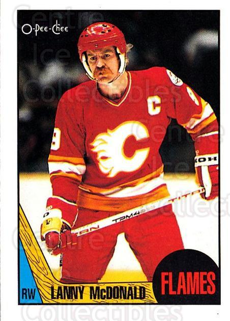 1987-88 O-Pee-Chee #20 Lanny McDonald<br/>3 In Stock - $1.00 each - <a href=https://centericecollectibles.foxycart.com/cart?name=1987-88%20O-Pee-Chee%20%2320%20Lanny%20McDonald...&quantity_max=3&price=$1.00&code=23810 class=foxycart> Buy it now! </a>
