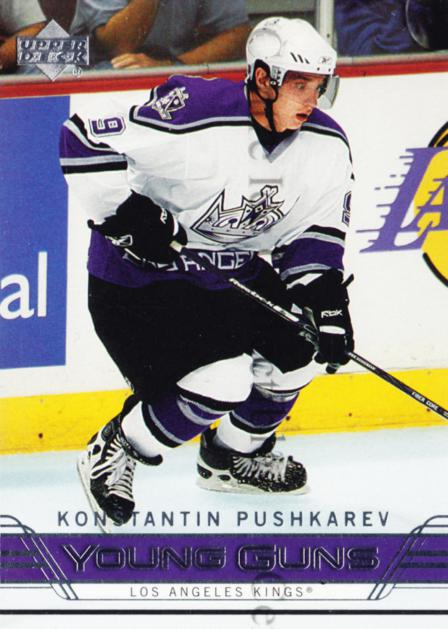 2006-07 Upper Deck #217 Konstantin Pushkarev<br/>9 In Stock - $5.00 each - <a href=https://centericecollectibles.foxycart.com/cart?name=2006-07%20Upper%20Deck%20%23217%20Konstantin%20Push...&quantity_max=9&price=$5.00&code=238203 class=foxycart> Buy it now! </a>