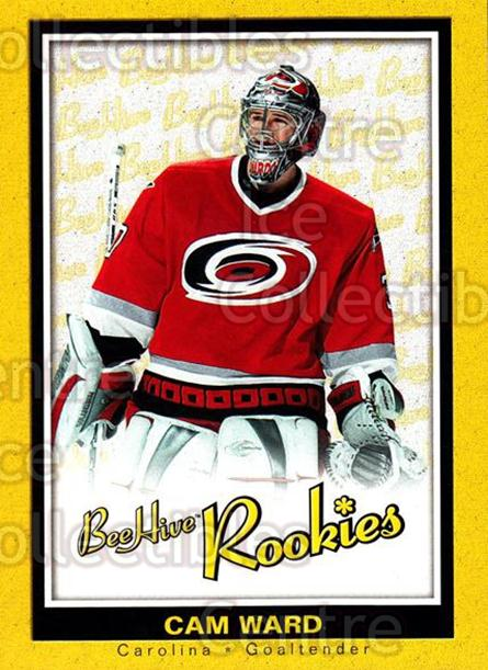 2005-06 Beehive #117 Cam Ward<br/>2 In Stock - $5.00 each - <a href=https://centericecollectibles.foxycart.com/cart?name=2005-06%20Beehive%20%23117%20Cam%20Ward...&price=$5.00&code=238215 class=foxycart> Buy it now! </a>