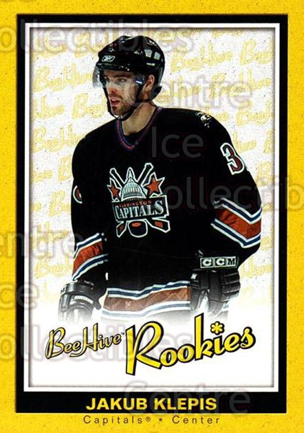 2005-06 Beehive #144 Jakub Klepis<br/>3 In Stock - $3.00 each - <a href=https://centericecollectibles.foxycart.com/cart?name=2005-06%20Beehive%20%23144%20Jakub%20Klepis...&quantity_max=3&price=$3.00&code=238225 class=foxycart> Buy it now! </a>