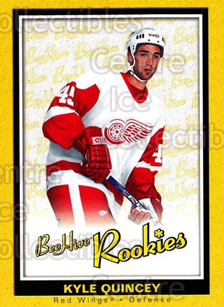 2005-06 Beehive #167 Kyle Quincey<br/>3 In Stock - $3.00 each - <a href=https://centericecollectibles.foxycart.com/cart?name=2005-06%20Beehive%20%23167%20Kyle%20Quincey...&quantity_max=3&price=$3.00&code=238233 class=foxycart> Buy it now! </a>