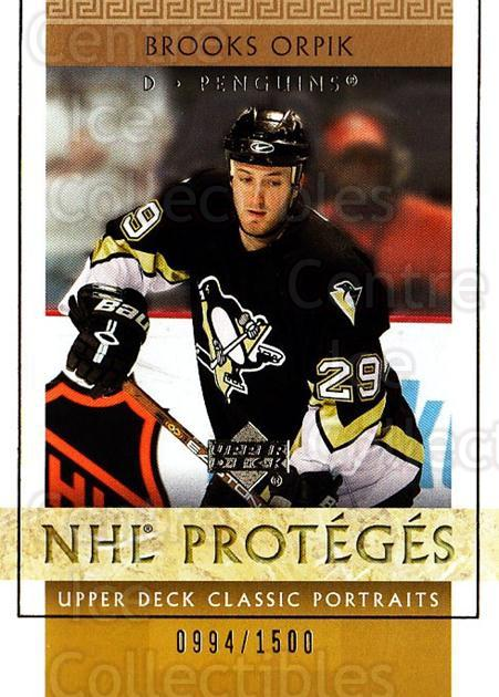 2002-03 UD Classic Portraits #134 Brooks Orpik<br/>7 In Stock - $3.00 each - <a href=https://centericecollectibles.foxycart.com/cart?name=2002-03%20UD%20Classic%20Portraits%20%23134%20Brooks%20Orpik...&quantity_max=7&price=$3.00&code=238251 class=foxycart> Buy it now! </a>