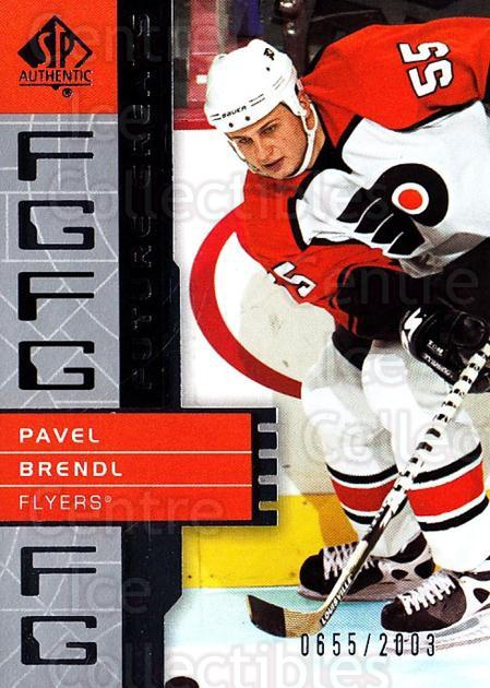 2002-03 Sp Authentic #127 Pavel Brendl<br/>1 In Stock - $2.00 each - <a href=https://centericecollectibles.foxycart.com/cart?name=2002-03%20Sp%20Authentic%20%23127%20Pavel%20Brendl...&quantity_max=1&price=$2.00&code=238265 class=foxycart> Buy it now! </a>