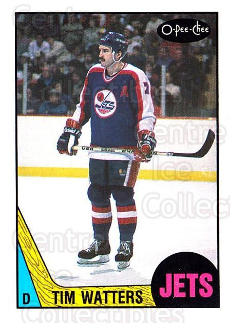 1987-88 O-Pee-Chee #219 Tim Watters<br/>8 In Stock - $1.00 each - <a href=https://centericecollectibles.foxycart.com/cart?name=1987-88%20O-Pee-Chee%20%23219%20Tim%20Watters...&quantity_max=8&price=$1.00&code=23828 class=foxycart> Buy it now! </a>