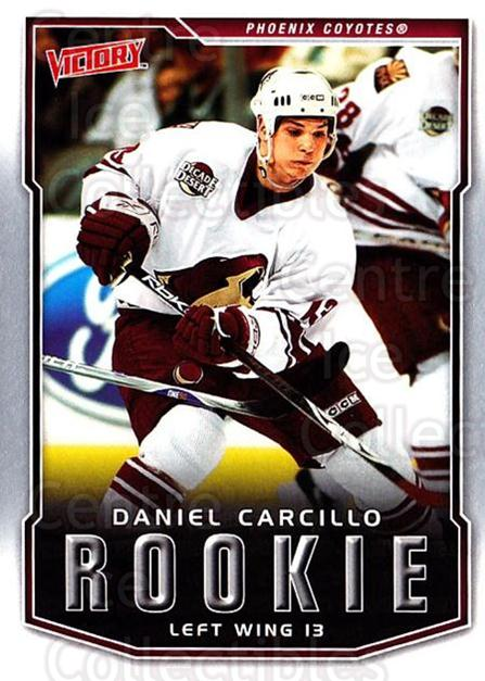 2007-08 UD Victory #232 Daniel Carcillo<br/>2 In Stock - $2.00 each - <a href=https://centericecollectibles.foxycart.com/cart?name=2007-08%20UD%20Victory%20%23232%20Daniel%20Carcillo...&price=$2.00&code=238294 class=foxycart> Buy it now! </a>