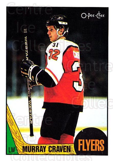 1987-88 O-Pee-Chee #22 Murray Craven<br/>6 In Stock - $1.00 each - <a href=https://centericecollectibles.foxycart.com/cart?name=1987-88%20O-Pee-Chee%20%2322%20Murray%20Craven...&quantity_max=6&price=$1.00&code=23829 class=foxycart> Buy it now! </a>