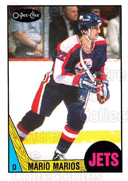 1987-88 O-Pee-Chee #220 Mario Marois<br/>8 In Stock - $1.00 each - <a href=https://centericecollectibles.foxycart.com/cart?name=1987-88%20O-Pee-Chee%20%23220%20Mario%20Marois...&quantity_max=8&price=$1.00&code=23830 class=foxycart> Buy it now! </a>