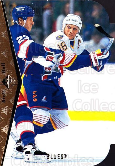 1994-95 SP Die Cuts #100 Brett Hull<br/>10 In Stock - $3.00 each - <a href=https://centericecollectibles.foxycart.com/cart?name=1994-95%20SP%20Die%20Cuts%20%23100%20Brett%20Hull...&quantity_max=10&price=$3.00&code=238329 class=foxycart> Buy it now! </a>
