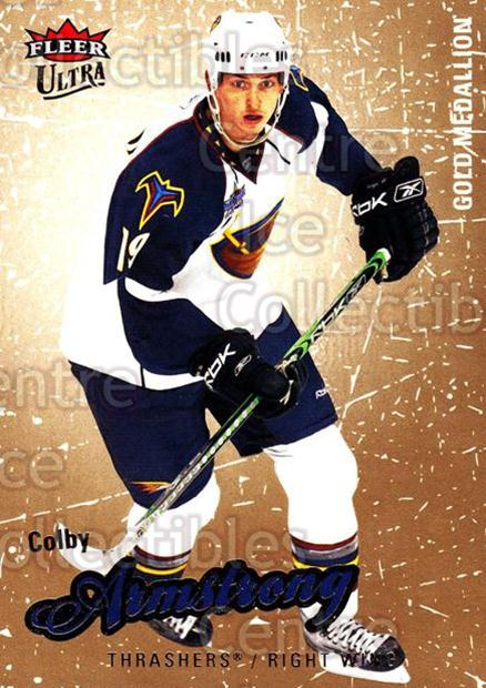2008-09 Ultra Gold #3 Colby Armstrong<br/>4 In Stock - $2.00 each - <a href=https://centericecollectibles.foxycart.com/cart?name=2008-09%20Ultra%20Gold%20%233%20Colby%20Armstrong...&quantity_max=4&price=$2.00&code=238358 class=foxycart> Buy it now! </a>