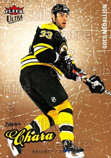 2008-09 Ultra Gold #10 Zdeno Chara<br/>4 In Stock - $2.00 each - <a href=https://centericecollectibles.foxycart.com/cart?name=2008-09%20Ultra%20Gold%20%2310%20Zdeno%20Chara...&quantity_max=4&price=$2.00&code=238365 class=foxycart> Buy it now! </a>
