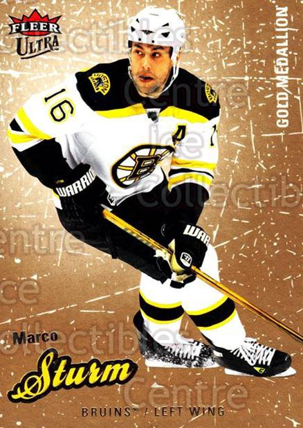 2008-09 Ultra Gold #11 Marco Sturm<br/>4 In Stock - $2.00 each - <a href=https://centericecollectibles.foxycart.com/cart?name=2008-09%20Ultra%20Gold%20%2311%20Marco%20Sturm...&quantity_max=4&price=$2.00&code=238366 class=foxycart> Buy it now! </a>