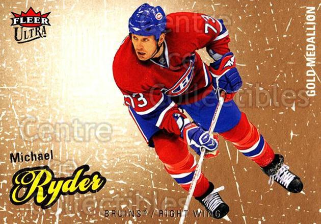 2008-09 Ultra Gold #14 Michael Ryder<br/>5 In Stock - $2.00 each - <a href=https://centericecollectibles.foxycart.com/cart?name=2008-09%20Ultra%20Gold%20%2314%20Michael%20Ryder...&quantity_max=5&price=$2.00&code=238369 class=foxycart> Buy it now! </a>