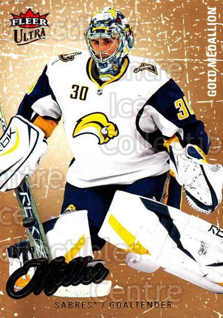 2008-09 Ultra Gold #16 Ryan Miller<br/>4 In Stock - $2.00 each - <a href=https://centericecollectibles.foxycart.com/cart?name=2008-09%20Ultra%20Gold%20%2316%20Ryan%20Miller...&quantity_max=4&price=$2.00&code=238371 class=foxycart> Buy it now! </a>