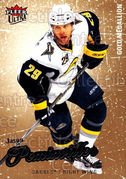 2008-09 Ultra Gold #18 Jason Pominville<br/>5 In Stock - $2.00 each - <a href=https://centericecollectibles.foxycart.com/cart?name=2008-09%20Ultra%20Gold%20%2318%20Jason%20Pominvill...&quantity_max=5&price=$2.00&code=238373 class=foxycart> Buy it now! </a>
