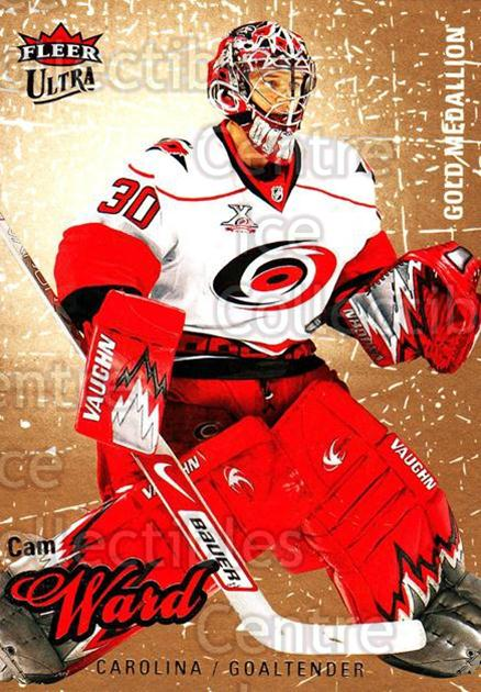 2008-09 Ultra Gold #23 Cam Ward<br/>4 In Stock - $2.00 each - <a href=https://centericecollectibles.foxycart.com/cart?name=2008-09%20Ultra%20Gold%20%2323%20Cam%20Ward...&quantity_max=4&price=$2.00&code=238378 class=foxycart> Buy it now! </a>